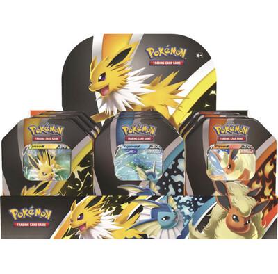 Pokemon Eevee Evolutions collectors Tin