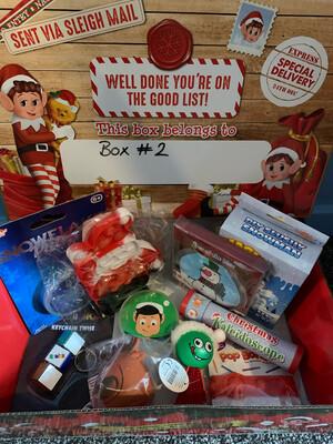 Christmas Pre-filled Fidget Sensory Box #2