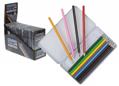 Colour Therapy 10 Pencils In Tin
