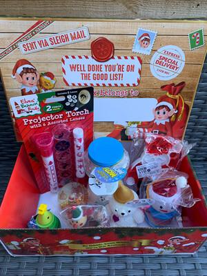 Christmas Pre-filled Fidget Sensory Box #1