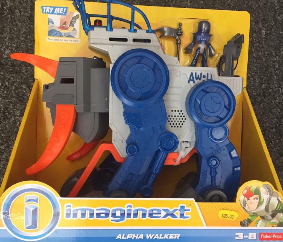 Imaginex Alpha Walker