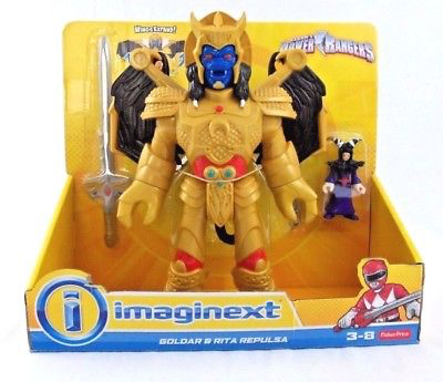 Imaginext Goldstar & Rita Repulsa