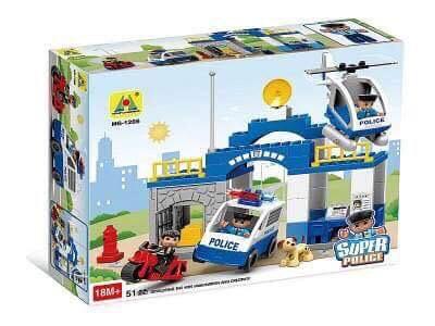 Super Police 70pcs