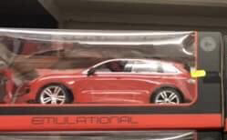 Emulational Red Remote Control Car
