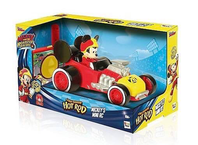 Remote Control Mickey's Mini Hot Rod