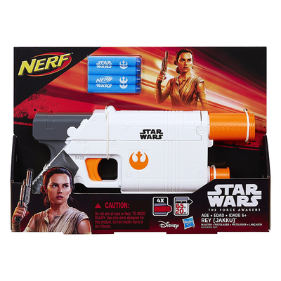 Nerf Star Wars Episode 8 Rey's Blaster