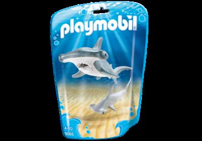 Hammerhead Shark With Baby 9065