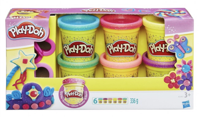 Playdoh Sparkle Compound Collection