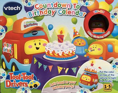 Countdown to Birthday Calendar