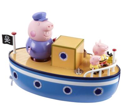 Grandpa Pigs Bathtime Boat