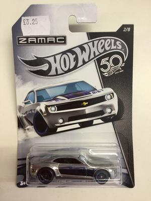 Hot wheels zamac edition chevy camero  concept