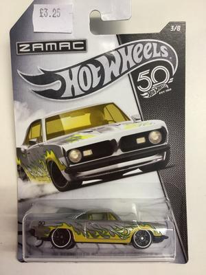 Hot wheels zamac edition 68 Plymouth barracuda formula 5