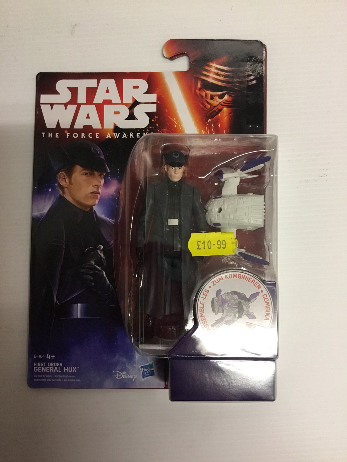 First order general hux Star Wars figure