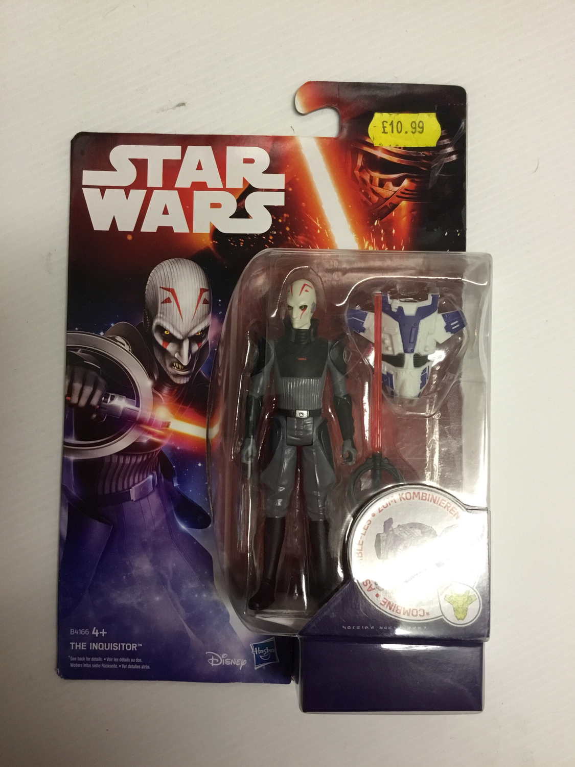 The inquisitor Star Wars figure
