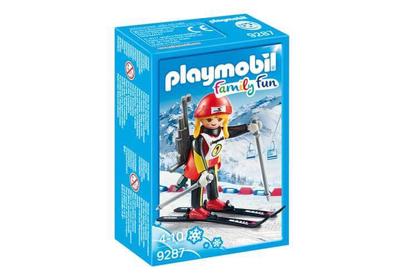 Playmobil 9287 Female Biathlete