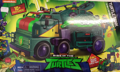 Rise of the ninja turtle tank
