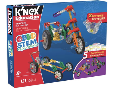 K'Nex Vehicles Building Set