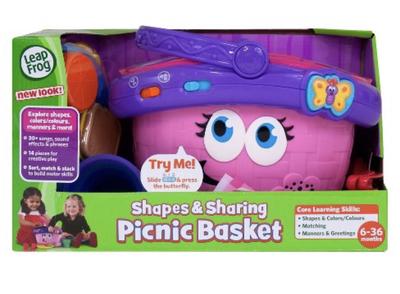 Leap Frog Pink Picnic Basket