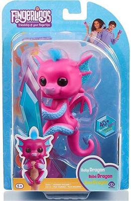 Fingerlings Pink Dragon