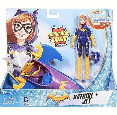 DC Super hero girls action figure and vehicle - Batgirl