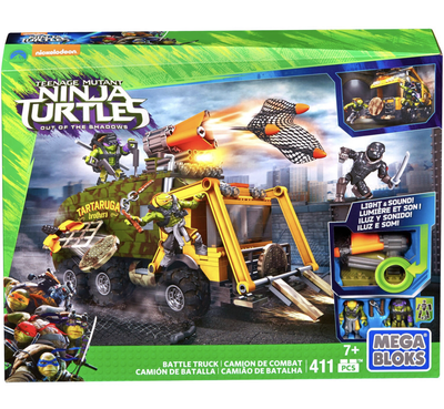 Turtles Battle Truck