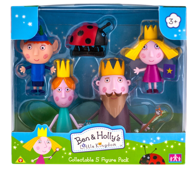Ben and holly 5 figure pack