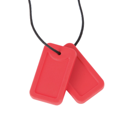 Chewigem Dog Tags Red