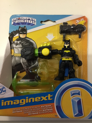 Imaginext dc super friends - thunder punch Batman