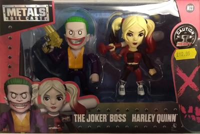 Twin pack joker boss and Harley quinn