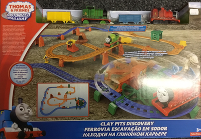 Motorized railway clay pits discovery