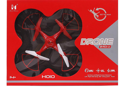 Hoio red 360 spin drone