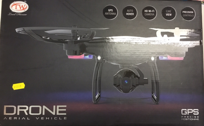 Drone aerial vehicle GPS precise positioning