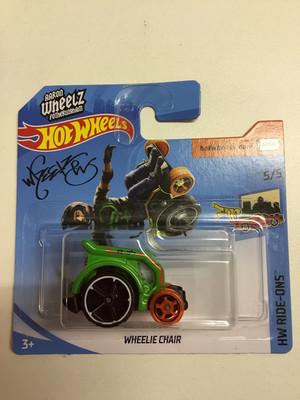 Hot wheels miniature- wheelie chair