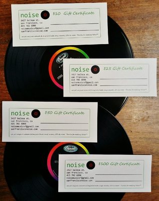 $25 Noise Gift Certificate