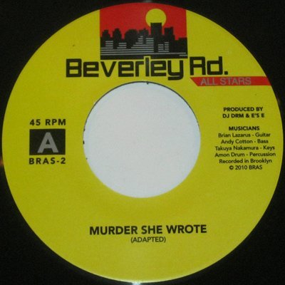 45 - BEVERLEY ROAD ALL STARS - MURDER SHE WROTE