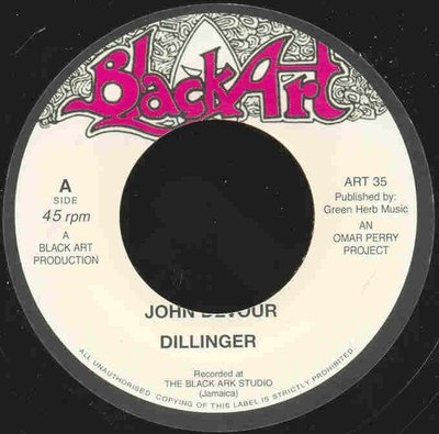 45 - DILLINGER, DAVID ISAACS - JOHN DEVOUR, A PLACE IN THE SUN