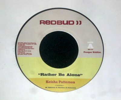 45 - KEISHA PATTERSON - RATHER BE ALONE