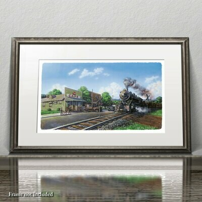Limited Edition Print: The Original Whistle Stop Cafe