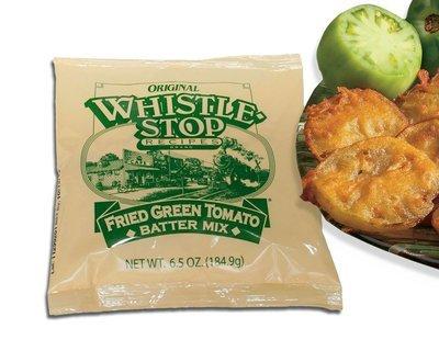 Original WhistleStop Cafe Recipes | Fried Green Tomato Batter Mix | 6.5-oz Bag