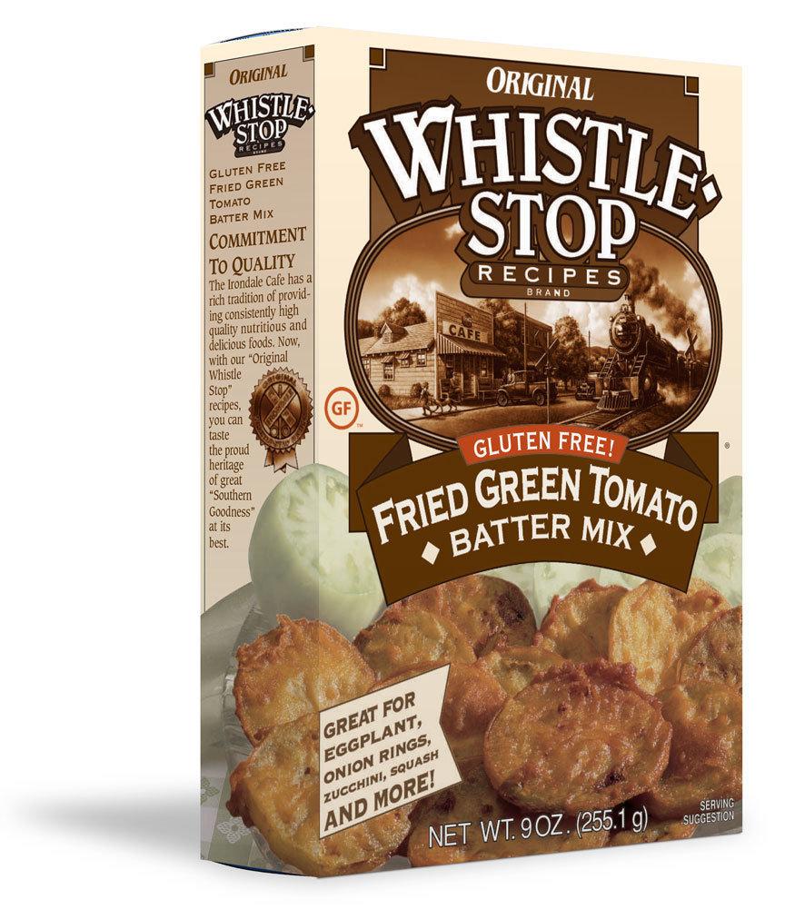 Original WhistleStop Cafe Recipes | Gluten-Free Fried Green Tomato Batter Mix | 9-oz | 1 Box