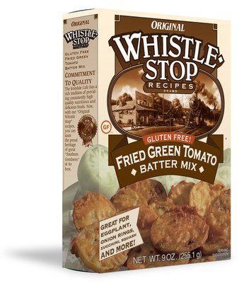 Original WhistleStop Cafe Recipes | Gluten-Free Fried Green Tomato Batter Mix | 9-oz | 1 Box