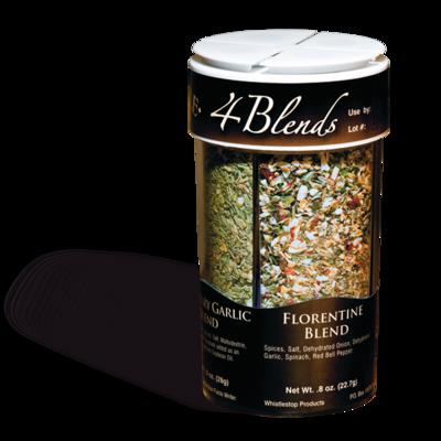 Original WhistleStop Cafe Recipes | 4-Blends Seasoning | 3.55-oz | 4-in-1 Shaker