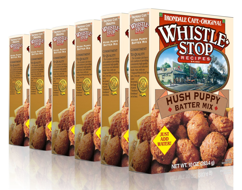 Original WhistleStop Cafe Recipes | Hush Puppy Batter Mix | 10-oz | 6 Pack