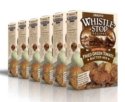 Original WhistleStop Cafe Recipes | Gluten-Free Fried Green Tomato Batter Mix | 9-oz | 6 Pack