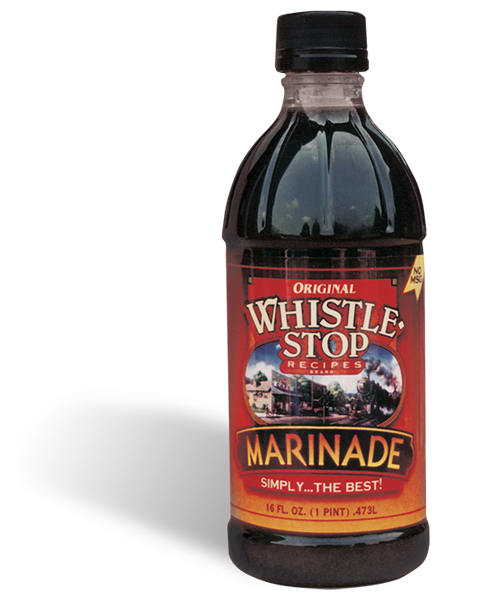 Original WhistleStop Cafe Recipes | Premium Marinade | 16-Fl oz | 1 Bottle