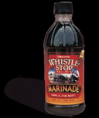 Original WhistleStop Cafe Recipes | Premium Marinade | 16-Fl oz | 1 Bottle