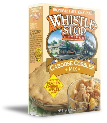 Original WhistleStop Cafe Recipes | Caboose Cobbler Batter Mix | 9-oz | 1 Box