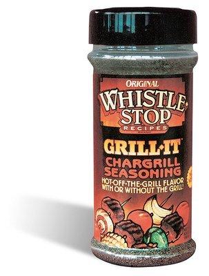 Original WhistleStop Cafe Recipes | Grill-It Chargrill Seasoning | 5.6-oz | 1 Shaker