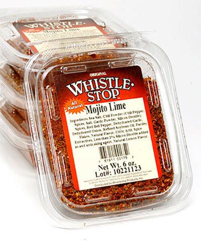 Original WhistleStop Cafe Recipes | Mojito Lime Spice Mix Seasoning | 6-oz. | 1 Clam Shell
