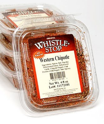 Original WhistleStop Cafe Recipes | Western Chipotle Spice Mix Seasoning | 4.8-oz. | 1 Clam Shell